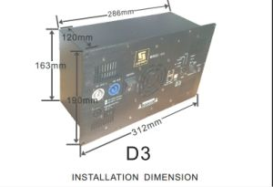 Lightweight D3 Three Channels DSP Digital Active Speaker Module pictures & photos