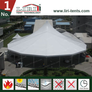 20X40 Outdoor Customized High Peak Aluminum Frame Tent with Church Window for Sale pictures & photos