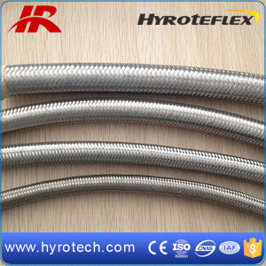 Smoothbore Stainless Steel Braid Hose/PTFE Teflon Flexible Hose/SAE100 R14 pictures & photos