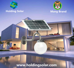 Energy Saving Solar LED Lamp with Intelligent Light Control pictures & photos