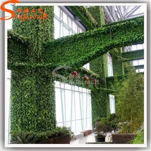 Garden Decoration Artificial Plastic Green Grass Wall pictures & photos