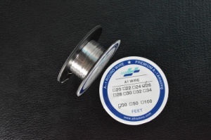 24G Wire 100ft Roll Vape Supply Coils AWG A1 Wire pictures & photos