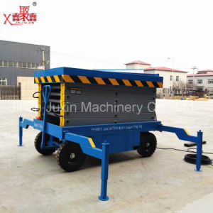 Hot Sale Movable Hydraulic Lift Platform pictures & photos