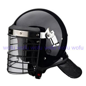 Police Riot Helmet with Visor pictures & photos