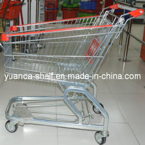 Supermarket Foldable Shopping Trolleys Cart with Seats pictures & photos