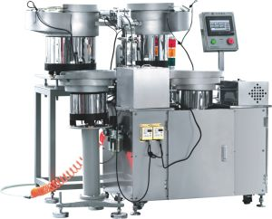 Infusion Apparatus Flow Regulator Pneumatic Automatic Assembly Machine (STZ-111) pictures & photos