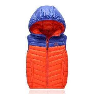 Mens Padded Down Casual Jacket with Hood pictures & photos