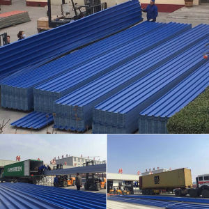 Long Span UPVC Roofing Sheet pictures & photos