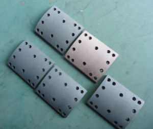 HOWO 14holes 5 Formula Sinotruck Shacman Brake Lining pictures & photos