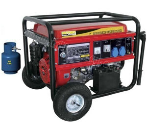 2kVA~7kVA LPG Liquefied Petroleum Gas Portable Generator pictures & photos