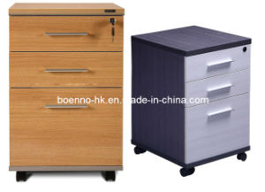 MDF Moving File Drawer Cabinet, Office Movable File Cabinet (MCB-03)