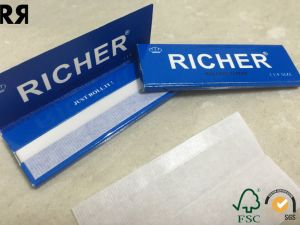 Slow Burning Water Mark Transparent Cigarette Paper pictures & photos