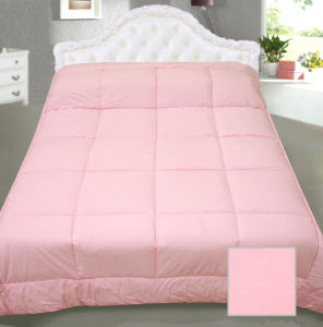 Box Quilting Pink Bedspread Bed Cover Quilt
