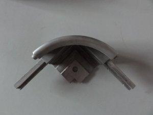 Custom Aluminum Die Casting Corner Fittings pictures & photos