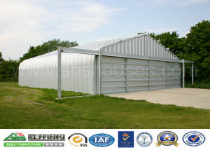 Economic Prefabricated Steel Structure Hangar pictures & photos