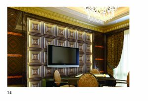 3D PU Wall Panel 1057 for Building Construction pictures & photos
