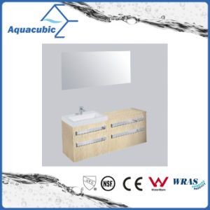 Bathroom Vanity with Side Cabinet and Mirror (ACF8926) pictures & photos