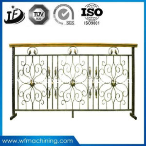 Custom Made Iron Casting Sand Cast Decorative Fence Parts pictures & photos