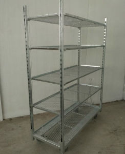 Wire Net Trolley for Sale & Net Mesh Danish Cart pictures & photos