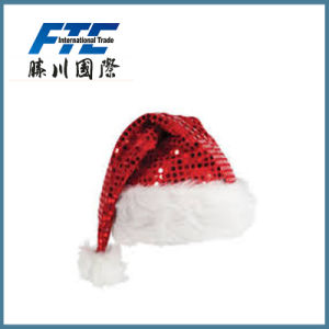 2017 Winter Promotional Custom Christmas Santa Hats pictures & photos