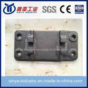 High-Speed Railway Iron Tie Plate pictures & photos