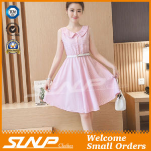 OEM High Quality Stripe Women Fashion Dress/Skirt Costume