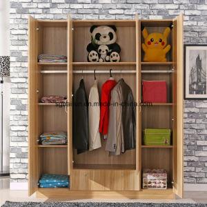 Melamine Wardrobe with PVC Cabinet Door pictures & photos