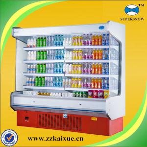 Supermarket Fruit and Vegetable Cooler Shelf