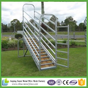 Hot DIP Galvanized Cattle Loading Ramps pictures & photos
