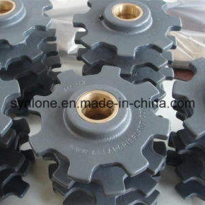 Custom Made Carbon Steel Drving Sprocket Wheel for Machinery pictures & photos