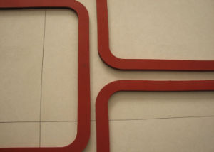 Silicone Sponge Gasket, Silicone Foam Gasket pictures & photos