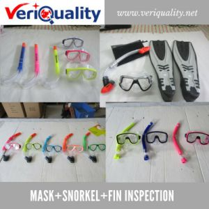 Mask+Snorkel+Fin Quality Control Inspection Service in Shenzhen pictures & photos