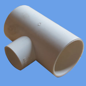 PVC Pressure Pipe Reducer Tee with AS/NZS1477 Standard pictures & photos