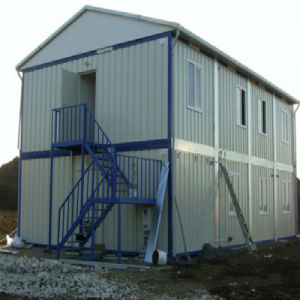 Prefabricated Structural Steel Modular Home for Construction Site pictures & photos