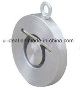 Thin Type Single Plate Wafer Check Valve-Wafer Type Check Valve pictures & photos