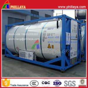 ISO Standard Stainless Steel LNG Tank Container (20FT) pictures & photos