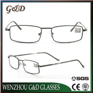 New Design Fashion Metal Reading Glasses with Case pictures & photos