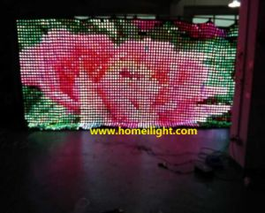 P9cm RGB Full Mix Color LED Video Curtain Light Flexible Display Vision pictures & photos