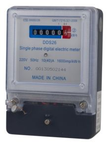 General Type Single-Phase Electronic Electricity Meter pictures & photos