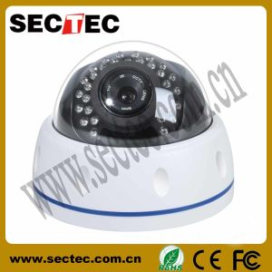 Metal IR Dome IP Camera with Motion Detection