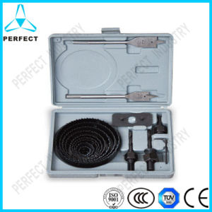Industry Quality 18PCS Wood Hole Saw Sets in Plastic Case pictures & photos