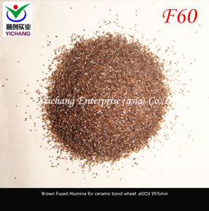 Brown Aluminum Oxide #60mesh for Abrasive Media pictures & photos