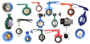 Butterfly Valve DIN ANSI JIS Standard pictures & photos