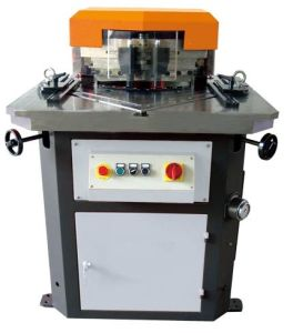Hydraulic Corner Notching Machine/Notcher (Variable Angle) 6mm pictures & photos