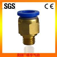 Male Threadpneumatic Fitting for Fast Connector (PC4-M5)