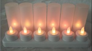 LED Flameless Birthday Candle/LED Tea Light Candle/Electric Candle Light pictures & photos