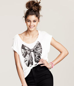 Lady′s Fashion Clothes / Fashion T-Shirt (FC0003) pictures & photos