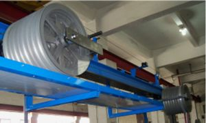 Horizontal Accumulator for Cable Extrusion Line