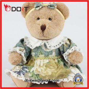 Girl Bear Classic Teddy Bear Vintage Teddy Bear with Headband pictures & photos