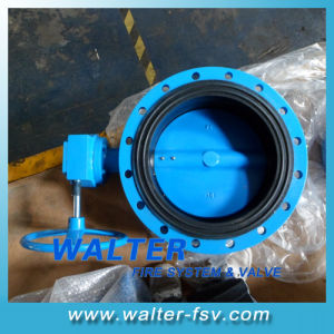 Worm Gear Flange Butterfly Valve with EPDM Seat pictures & photos